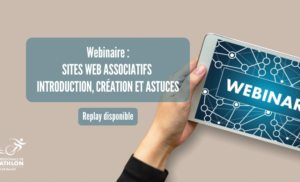 Replay webinaire : Sites web associatifs