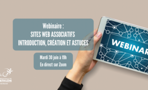 Webinaire : Sites web associatifs – Introduction, création et astuces