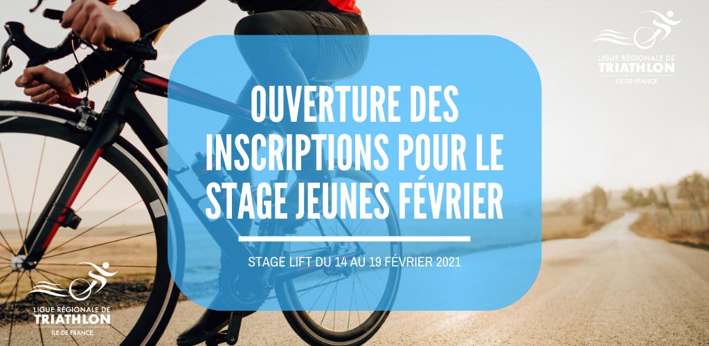 Stage jeunes février 2021