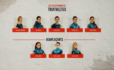 Les triathlètes mis en position de sélectionnables pour les Jeux de Tokyo